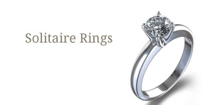 Cut diamond solitaire rings